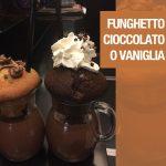 Funghetto Cioccolato o Vaniglia